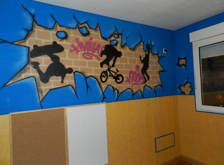 Mi nombre en graffiti habitaci n con graffiti decoraci n juvenil graffiti de nombre iv n - Graffitis en paredes ...