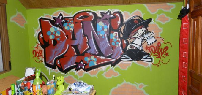 Nace ¡Mi Nombre En graffiti!