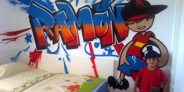 Graffiti de nombre: Ramón