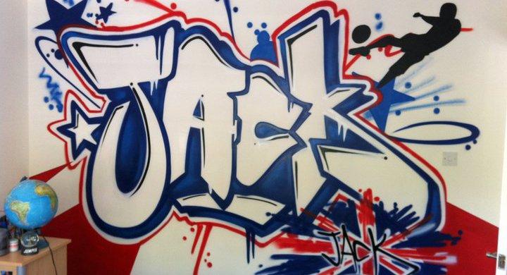 Graffiti de nombre: Jack