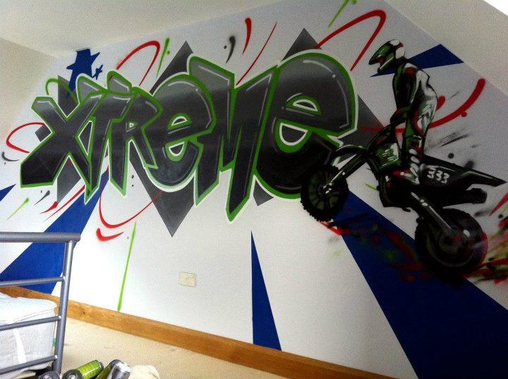 ¡¡Graffiti a todo motor!!
