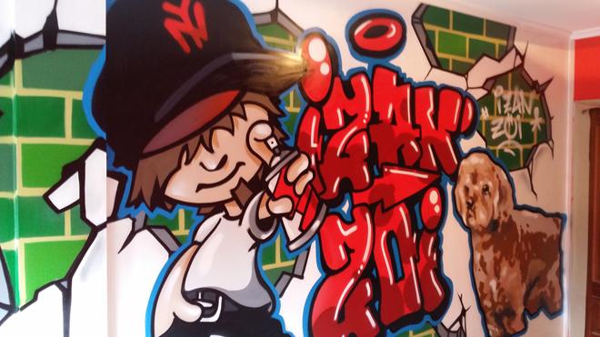 Graffiti de recuerdo